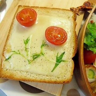 お花トースト 話題のかわいい★
