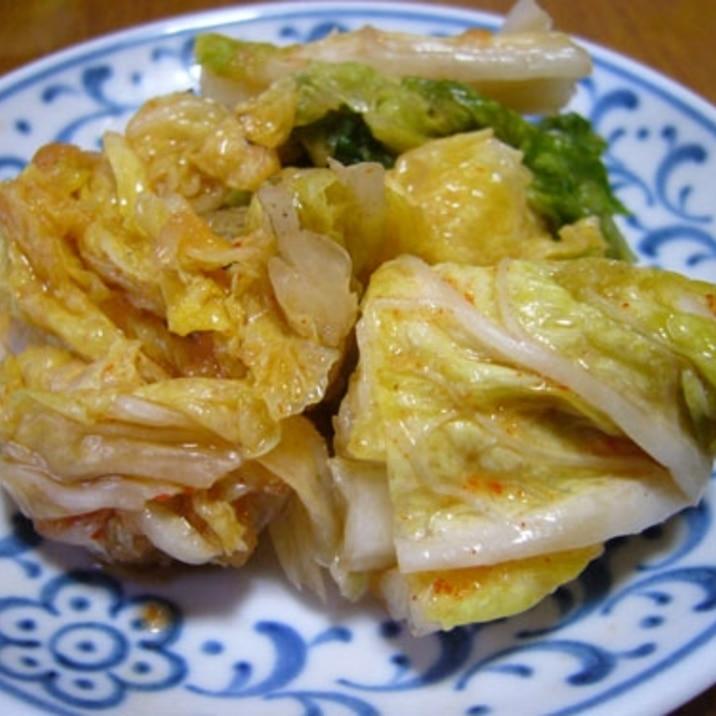 【桃屋キムチの素使用】辛すぎない白菜キムチ
