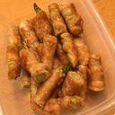 肉巻きアスパラ☆焼肉味