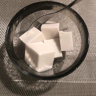 砂糖なし!ココナッツミルク&アーモンドミルクの寒天