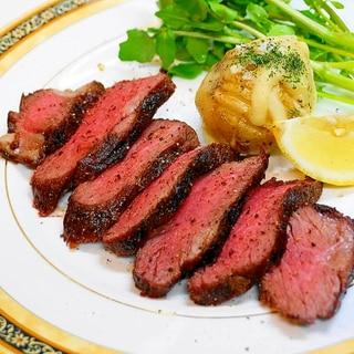 失敗なし~厚いステーキ肉の焼き方!ビーフステーキ