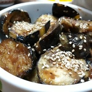 簡単美味しい♪食欲そそる茄子の味噌焼き