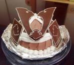 兜の立体ケーキ