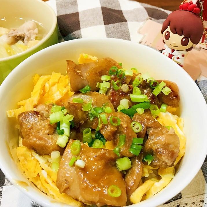 トロッと甘辛のタレで♡鳥肉の照り焼き丼