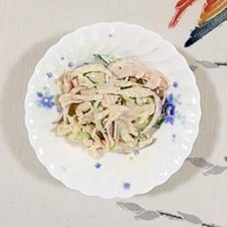 サラダチキンのマヨネーズサラダ