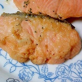 塩レモンで♥鮭のムニエル