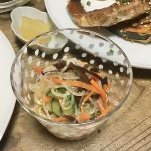 給食のあの味☆春雨の中華風サラダ