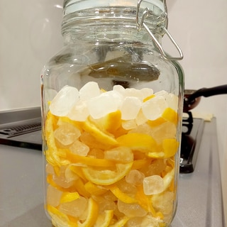 自家製♪柚子シロップ