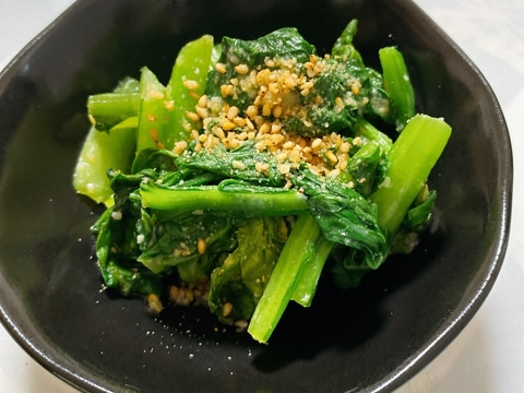 超簡単!小松菜の酢味噌和え