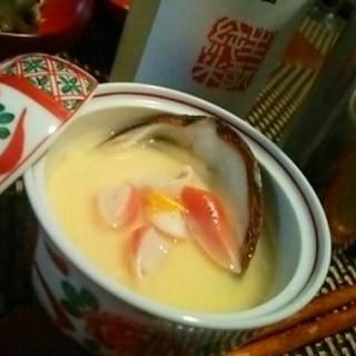 おうち居酒屋、北寄貝の茶わん蒸し