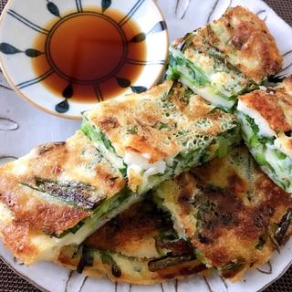 カリカリ海鮮チヂミ☆韓国人おばちゃんレシピ