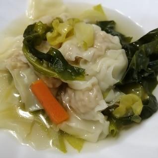 冷凍ワンタンスープ
