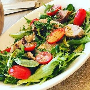ブリポワレのフレッシュグリーンサラダ