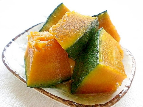 5分で作れる ホクホク南瓜の甘煮