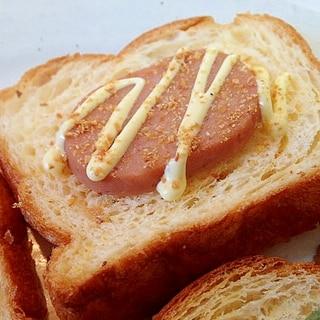 大蒜・オニオン香る おさかなのハンバーグチーズデニ