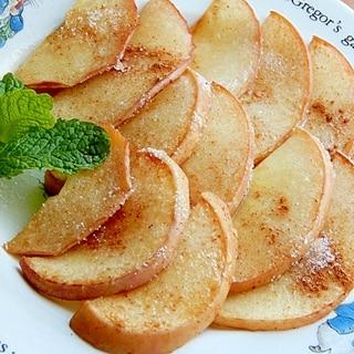 簡単に❤焼きりんご風デザート♪(はちみつ他)
