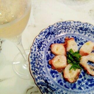 ワインに合う❣真タコの大葉カルパッチョ