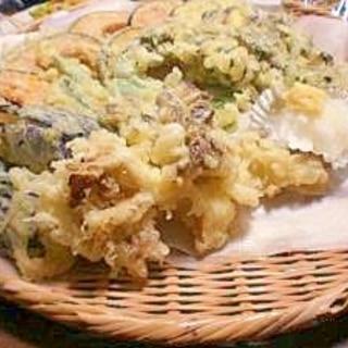 おもてなしサックリ天ぷら 春野菜も