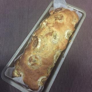 ノンオイル バナナ3本 パウンドケーキ