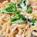 ブロッコリーとツナのマカロニサラダ