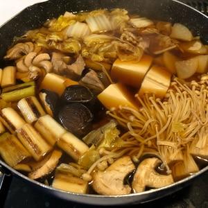 [絶品]にんにく入りねぎま鍋