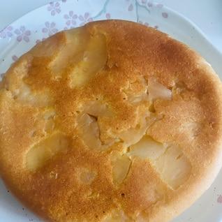 炊飯器で簡単りんごケーキ