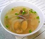 アサリのコンソメスープ