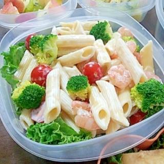 運動会のお弁当に☆パスタサラダ♪