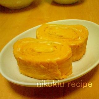 簡単おいしい!バター風味の甘い卵焼き