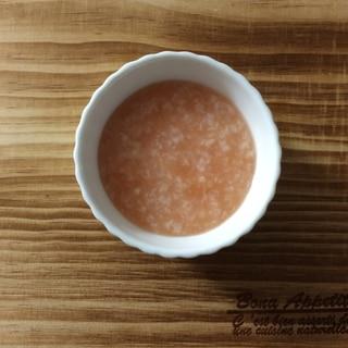 離乳食 レンジで簡単〜トマトリゾット〜