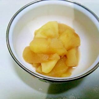 レンジで林檎・手抜き版