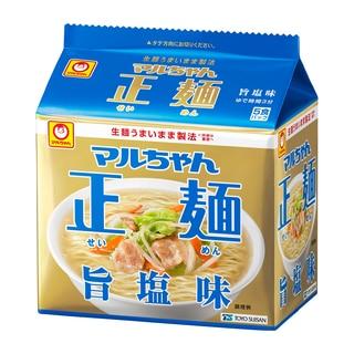 マルちゃん正麺 旨塩味  5食パック
