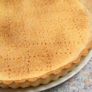 少なめのバターで作るタルト生地