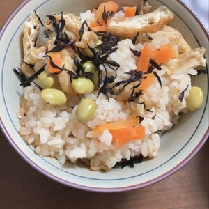 ♡簡単美味♪ひじきの炊き込みご飯【ひじきご飯】♡