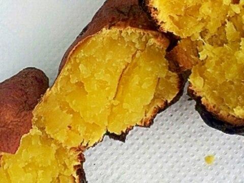 BBQ♪さつまいもの焼き芋