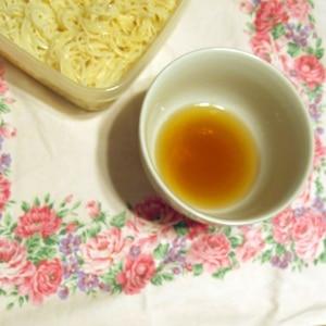 素麺弁当☆削り節で美味しいつゆ
