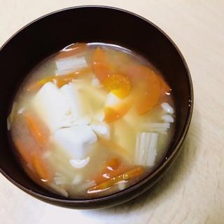 和漢。心体温まるお味噌汁。最後はお好みで。