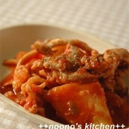 トマトが入るといつもの肉じゃがと全然違う! でも肉&じゃがで肉じゃが❤ですね✿ イタリアンな肉じゃが美味しかったです♪