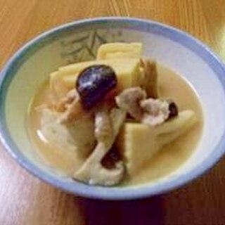 今が旬 筍汁(孟宗汁)