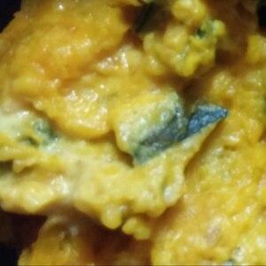 かぼちゃとさつまいものサラダ