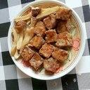 母の日に☆サイコロステーキとエリンギの塩レモン風味