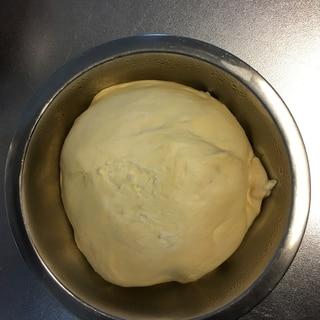 パン生地☆冷蔵庫で低温発酵☆朝から焼きたてパンを☆