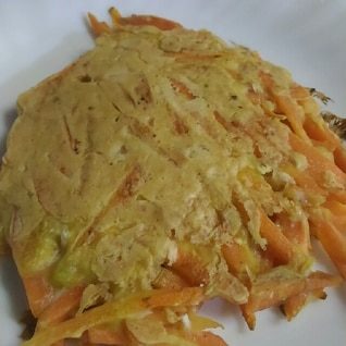 にんじんのチーズ焼き