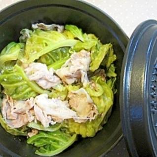 ストウブ鍋で☆キャベツと豚バラ肉の重ね蒸し