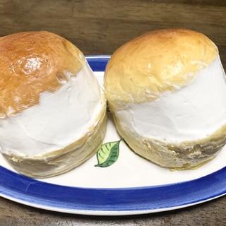 自家製パン 酵母パン クリームたっぷりマリトッツォ