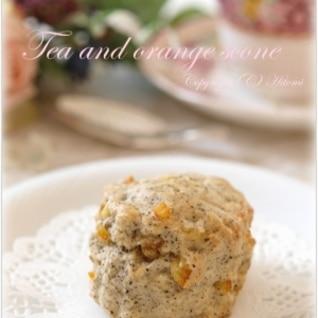 TEAオレンジスコーン☆