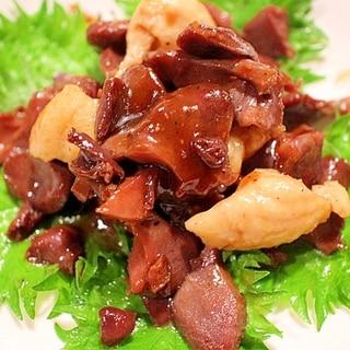 砂肝の甘辛炒め【おつまみ・おかず・お弁当に♪】