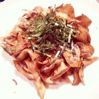 【超簡単】舞茸の明太子ペペロンチーノ炒め