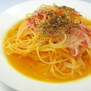 簡単、うまい! コンソメスープスパゲッティ