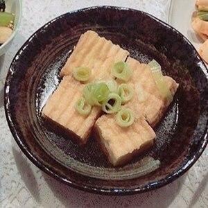 揚げずに簡単!揚げ出し豆腐